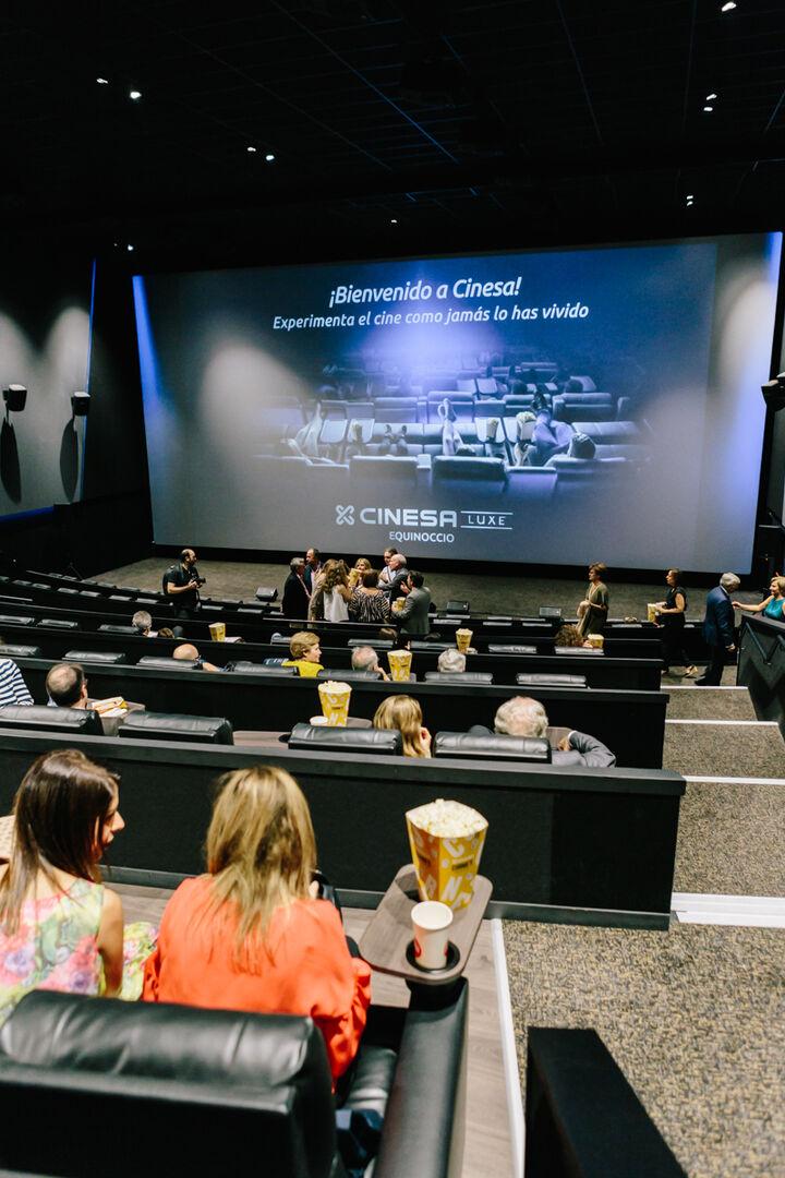 Los cines futuristas llegan a España: el espectador siente lo mismo que el protagonista
