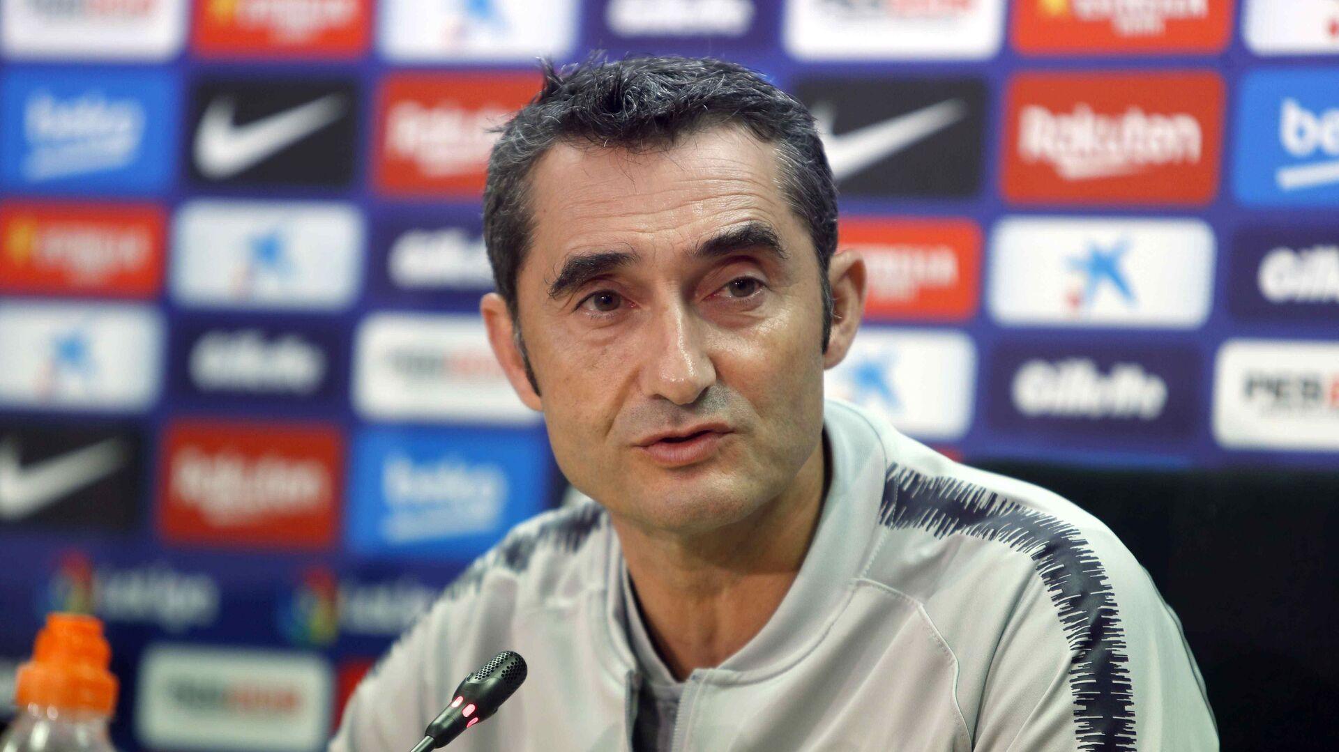 """Valverde: """"El mejor entrenador es Guardiola, independientemente de que haya caído en la Champions"""""""