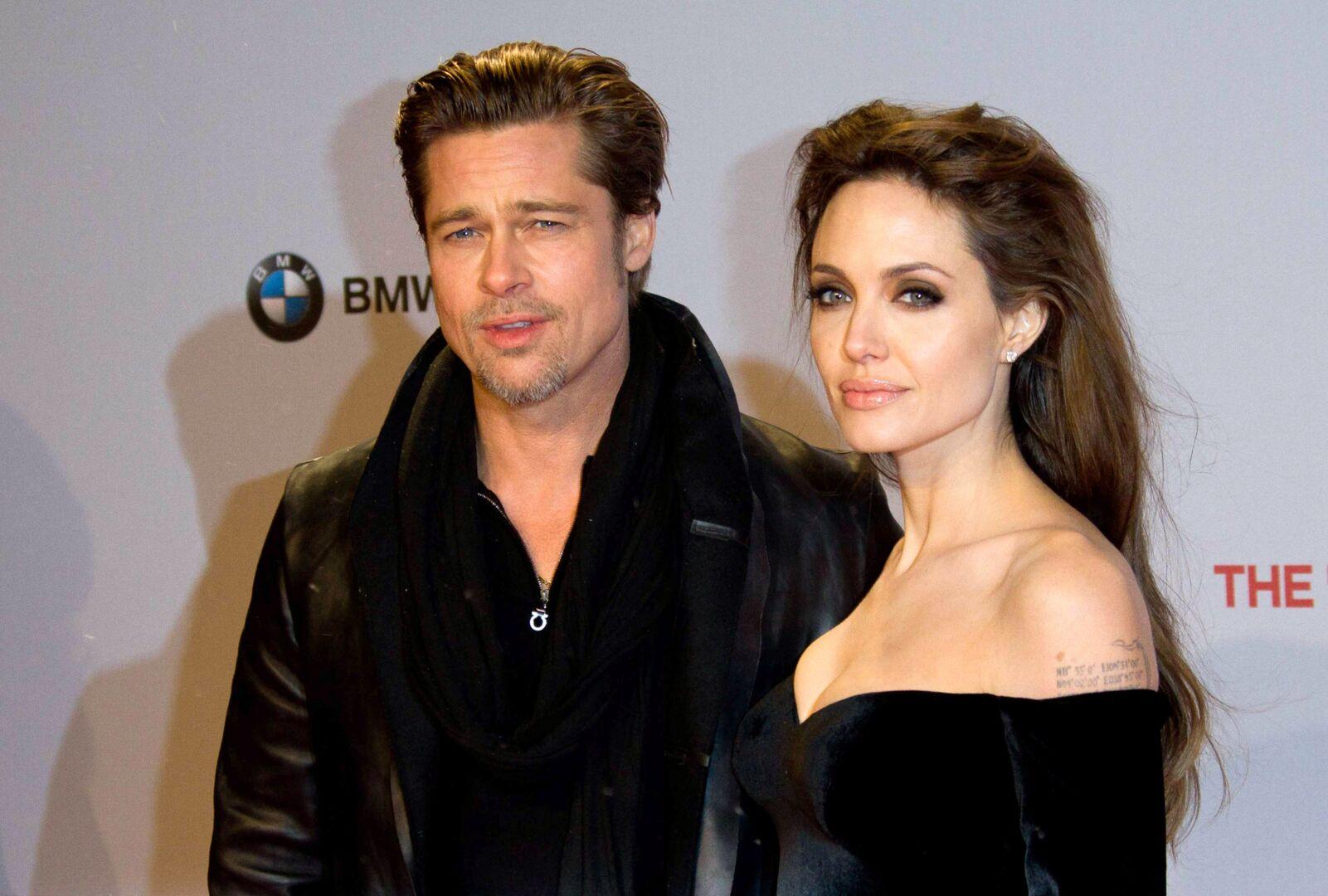 """Descubren el nuevo plan de Angelina Jolie para """"enloquecer"""" a Brad Pitt - Chic"""