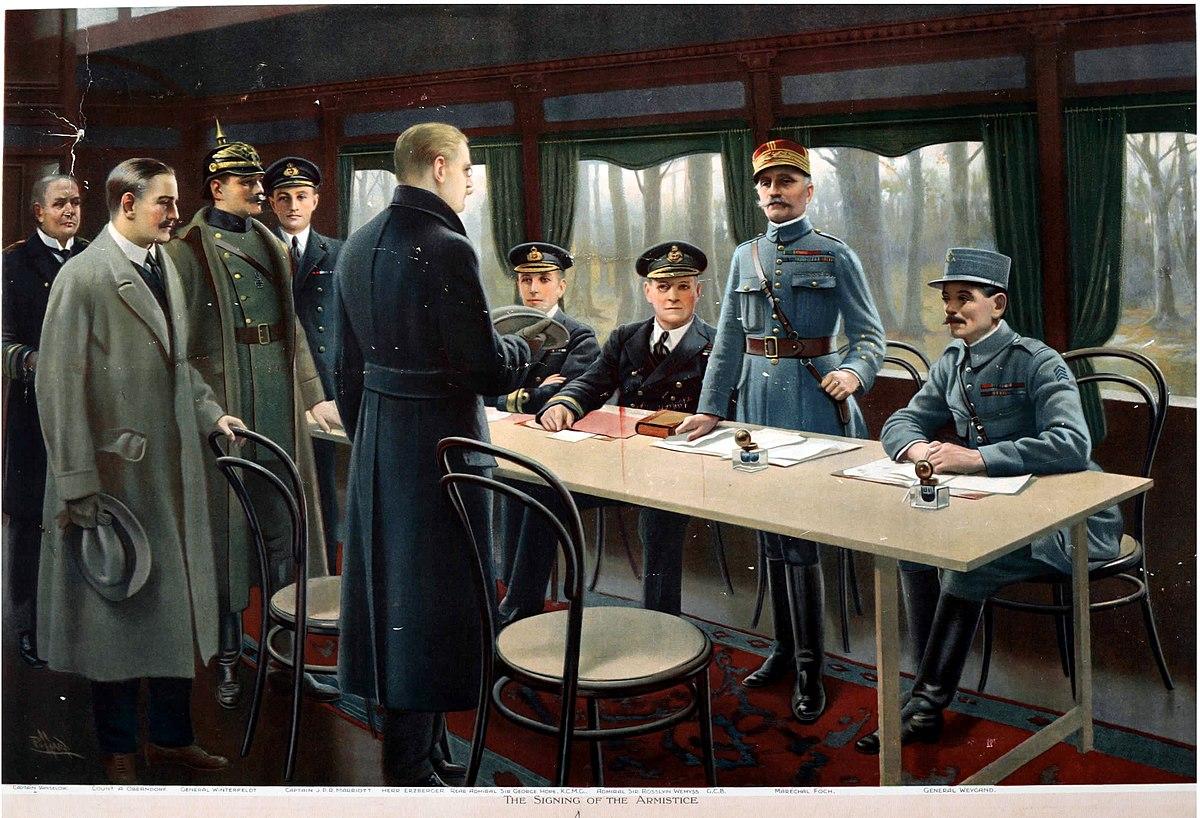Jefes de Estado conmemoran 100 años del fin de I Guerra Mundial