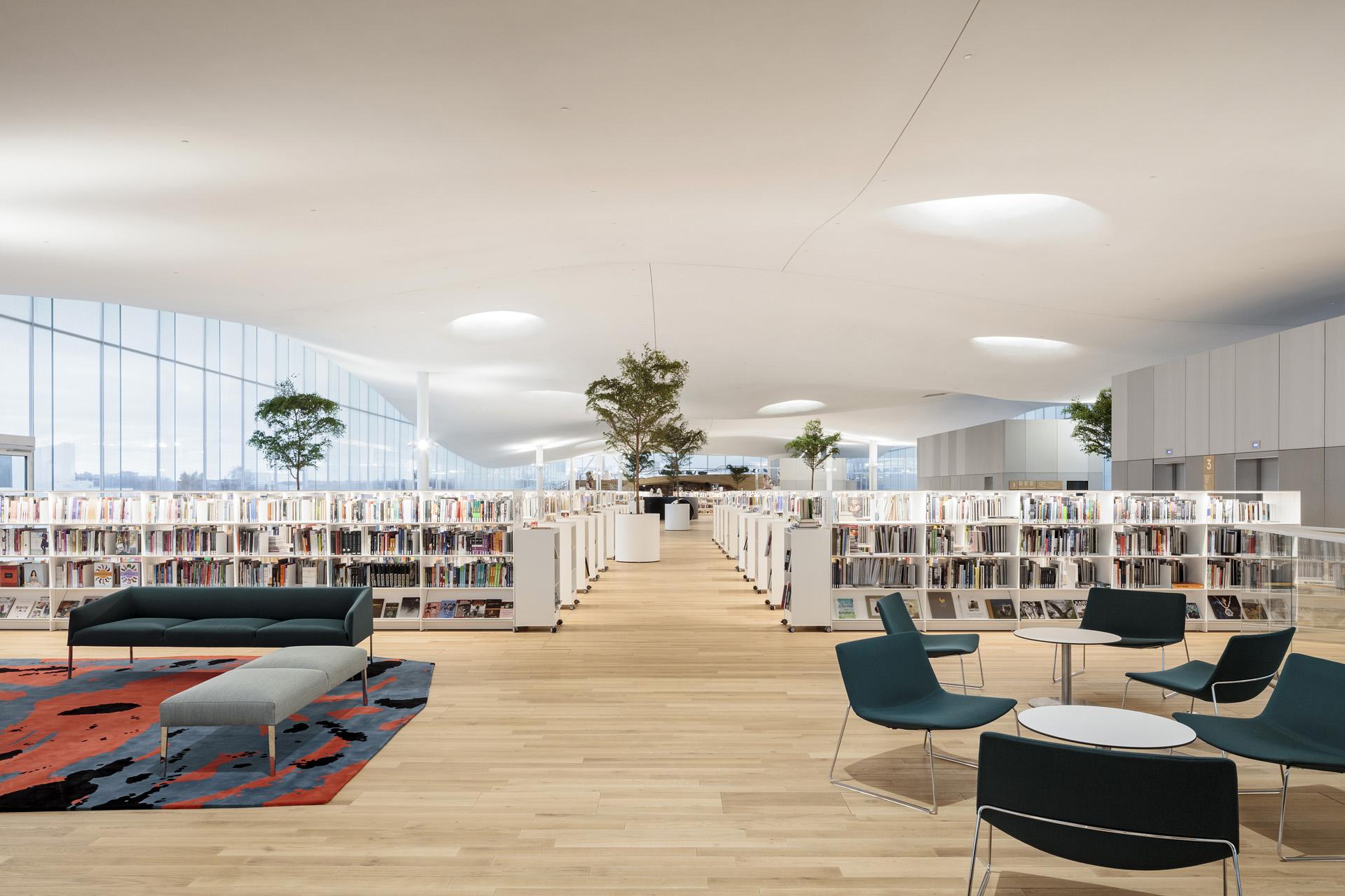 Resultado de imagen para nueva biblioteca finlandia oodi