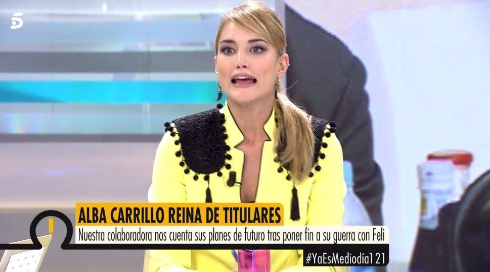 ¿Quién es el topo que filtra los secretos de Alba Carrillo?