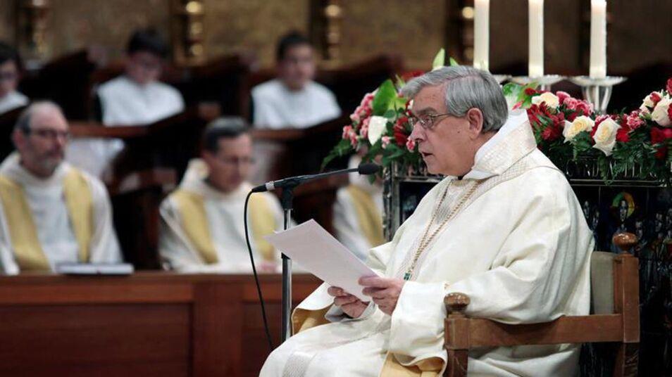 El abad reza por el indulto