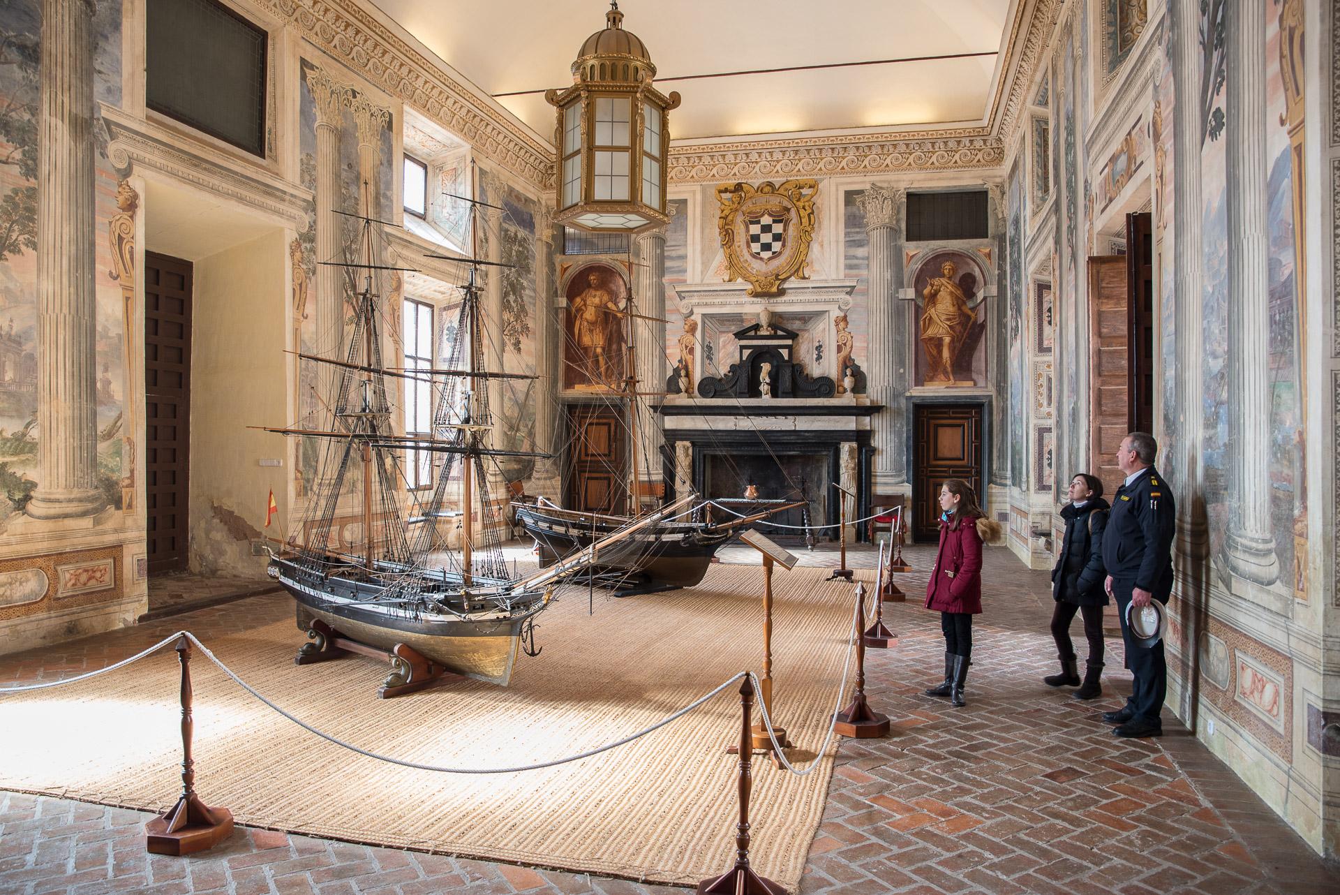 Palacio Del Marques De Santa Cruz Un Trocito De Italia En El
