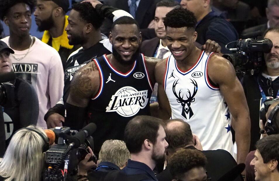 50dce13c29 El equipo de LeBron se lleva el All Star Game y Kevin Durant se alza como  MVP (178-164)