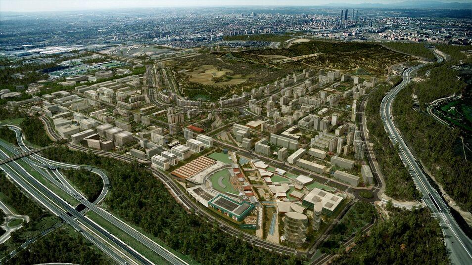 Desarrollo urbanístico de Valdebebas  0f90b6d205e