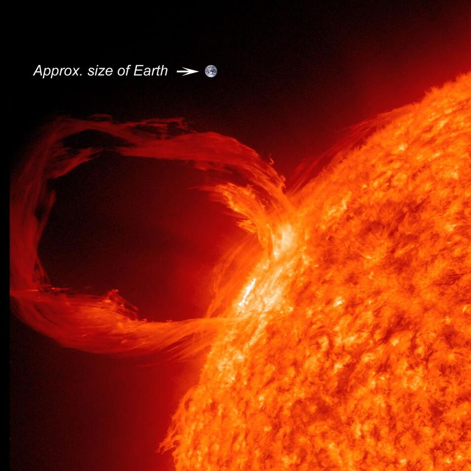 Space Weather Forecasts - ESTUDIO DEL SOL Y LA #MAGNETOSFERA , #ASTRONOMÍA - Página 11 Tormenta-solar-nasa