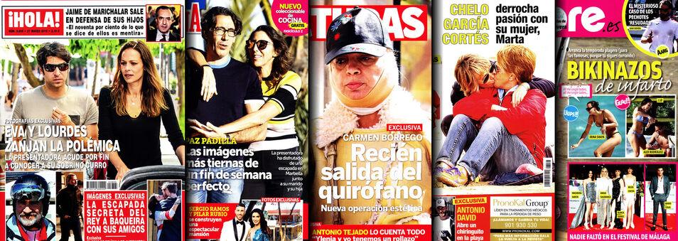Jorge Javier, ausente también de 'Lecturas': no hay columna semanal