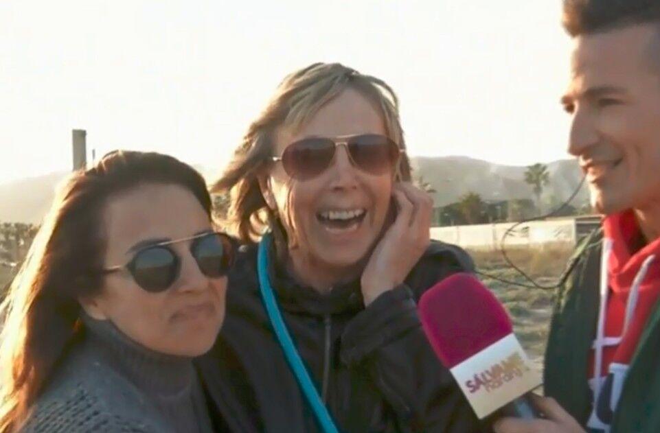 Marta, mujer de Chelo, enamora a los espectadores en su primera entrevista en directo