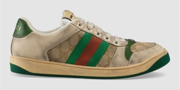 Gucci Lanza Unas Zapatillas Sucias Por 750 Euros Libre Mercado