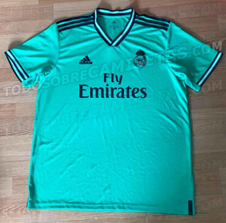 2d22cf7418b2b Tercera camiseta del Real Madrid - Las camisetas de fútbol para la  siguiente temporada de los grandes de Europa - null