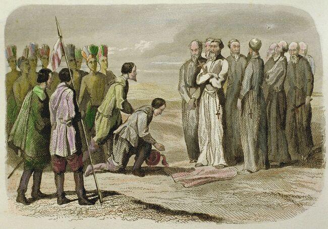 ¿Qué dejó España en México a lo largo de 300 años? Desde la rueda a hospitales Fray-martin-de-valencia