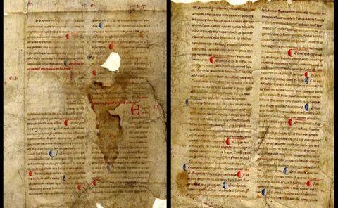 Identifican dos valiosos manuscritos del siglo XIII de Bernardo de Brihuega, colaborador del rey Alfonso X