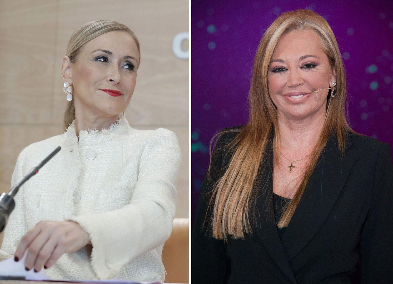 Cristina Cifuentes manda un mensaje a Belén Esteban en las redes sociales