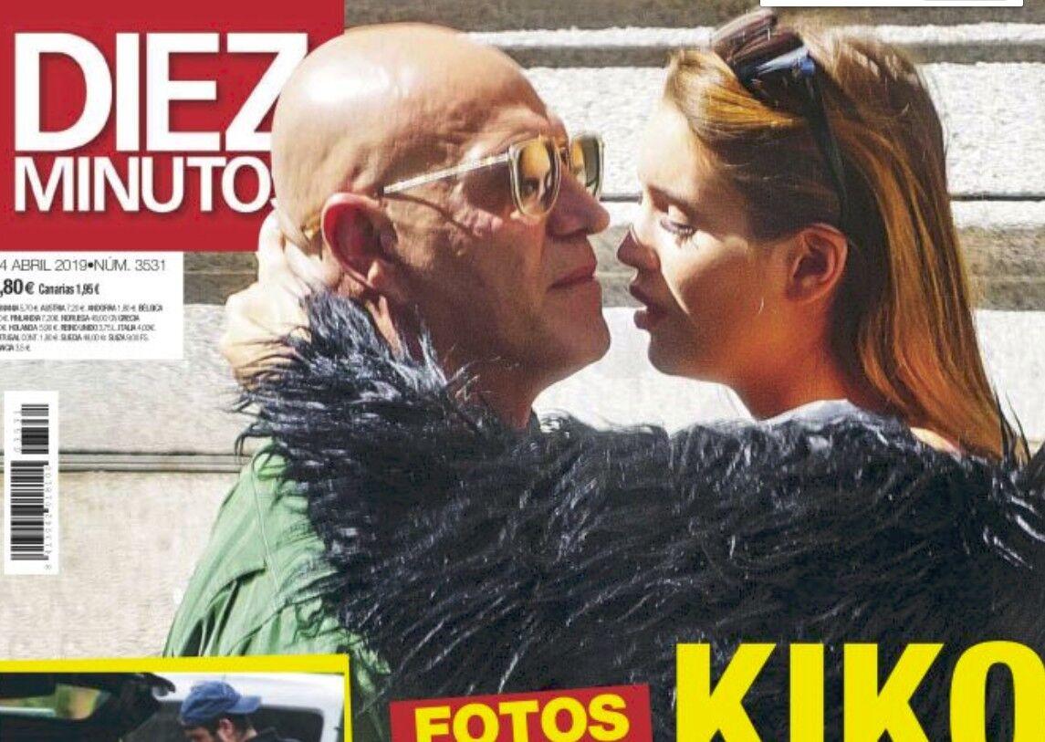 Kiko Matamoros, a besos en plena calle con una mujer que no es Cristina