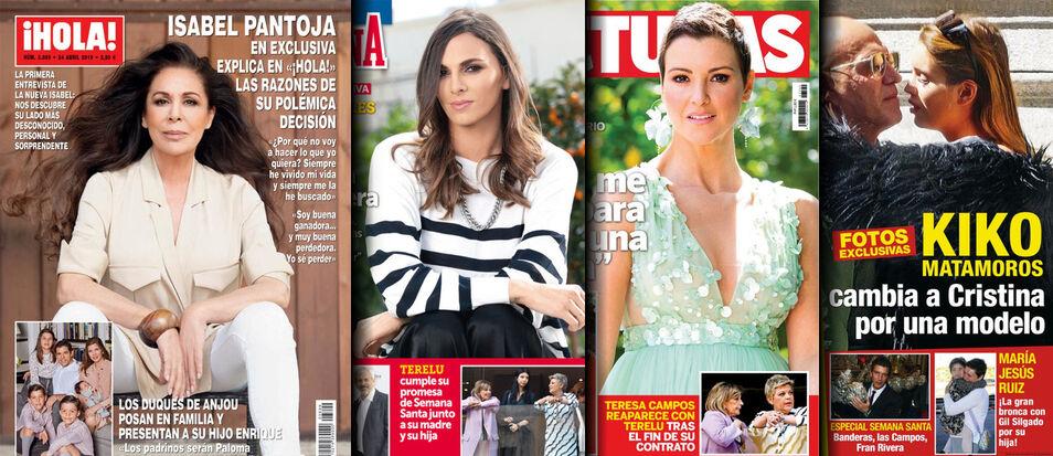 Isabel Pantoja empieza a hacer caja con una entrevista en '¡Hola!'