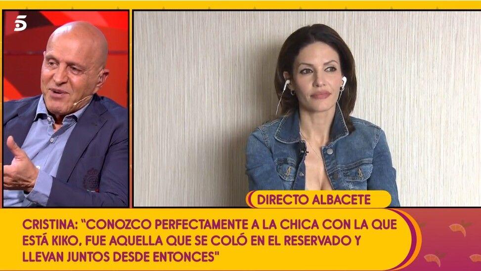 Cristina Pujol desvela la gran verdad de su relación con Kiko Matamoros