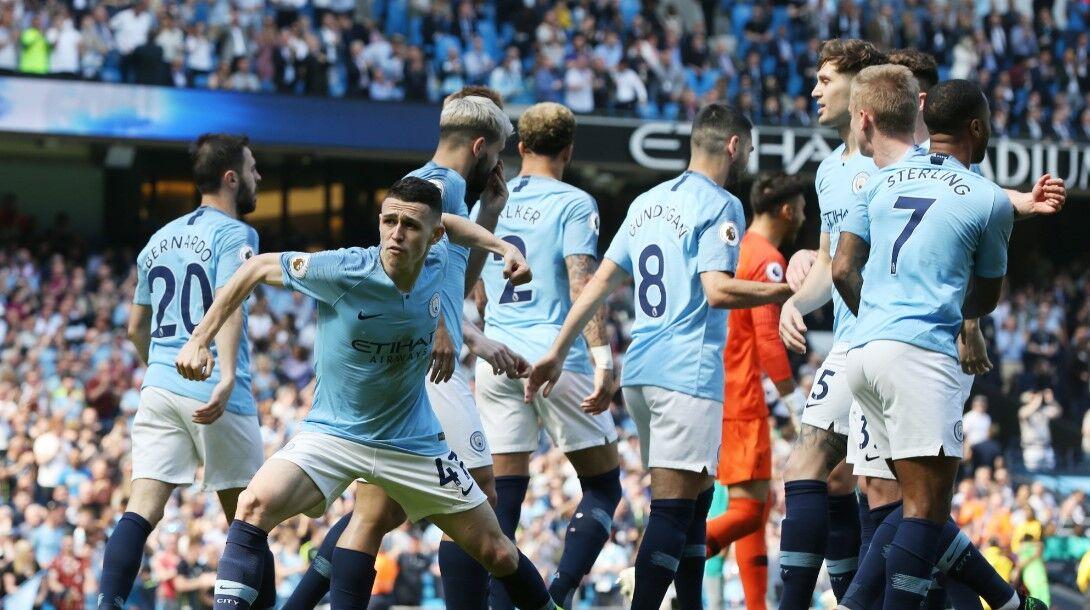 El Manchester City se venga del Tottenham y sigue al frente de la Premier (1-0)