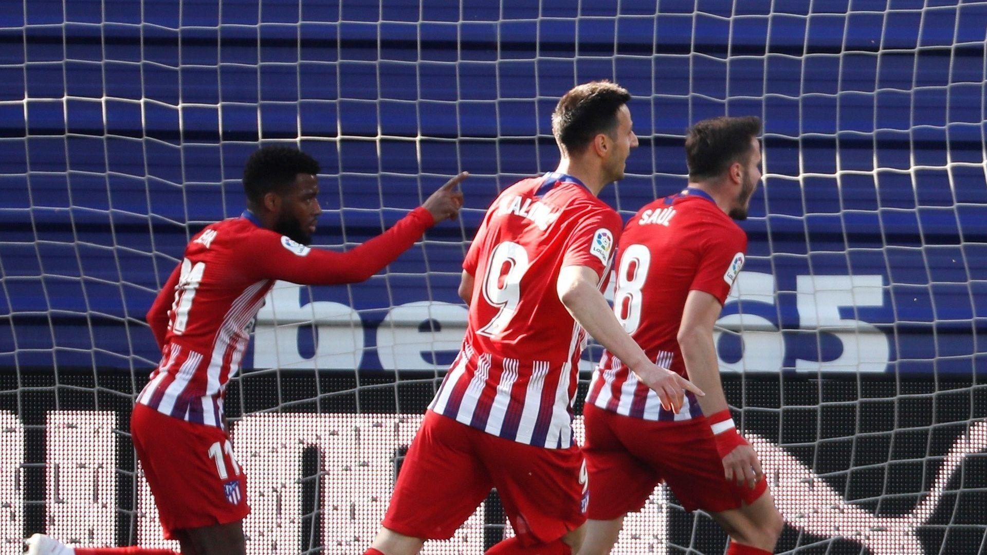 Lemar salva los tres puntos para el Atlético ante el Eibar en Ipurua (0-1)