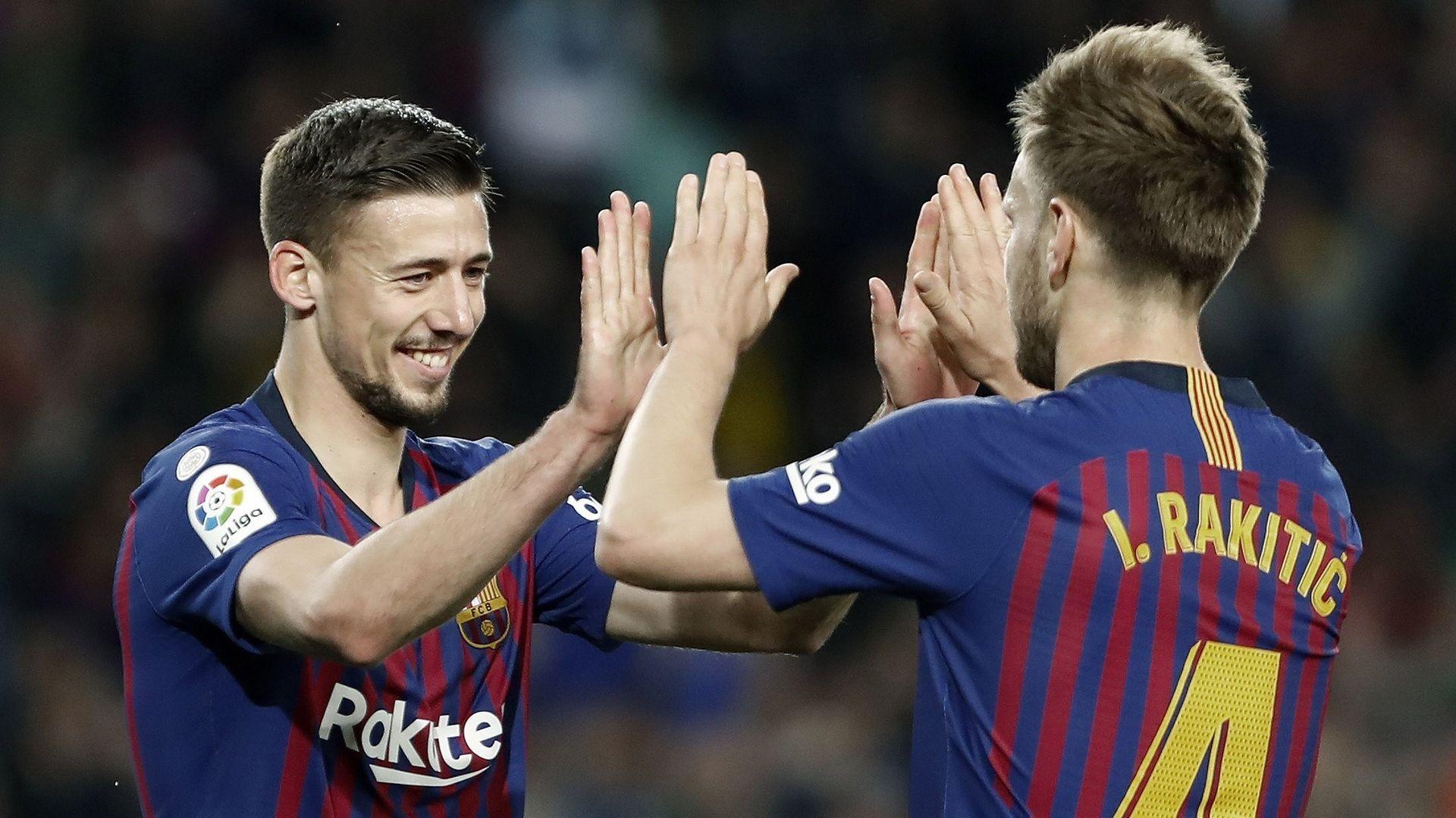 Lenglet y Jordi Alba mantienen la ventaja del Barcelona en cabeza (2-1)