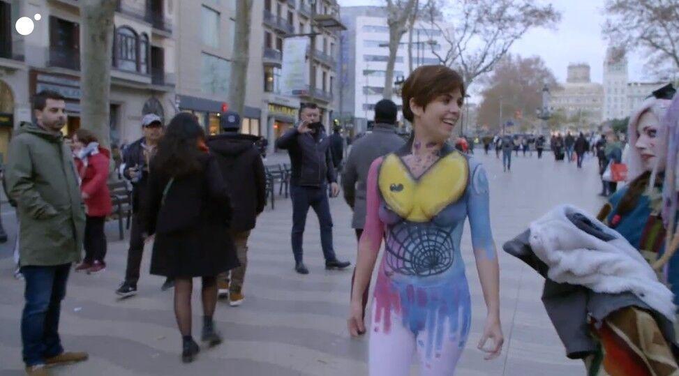 La última Extravagancia De Samanta Villar Salir Desnuda Por Las