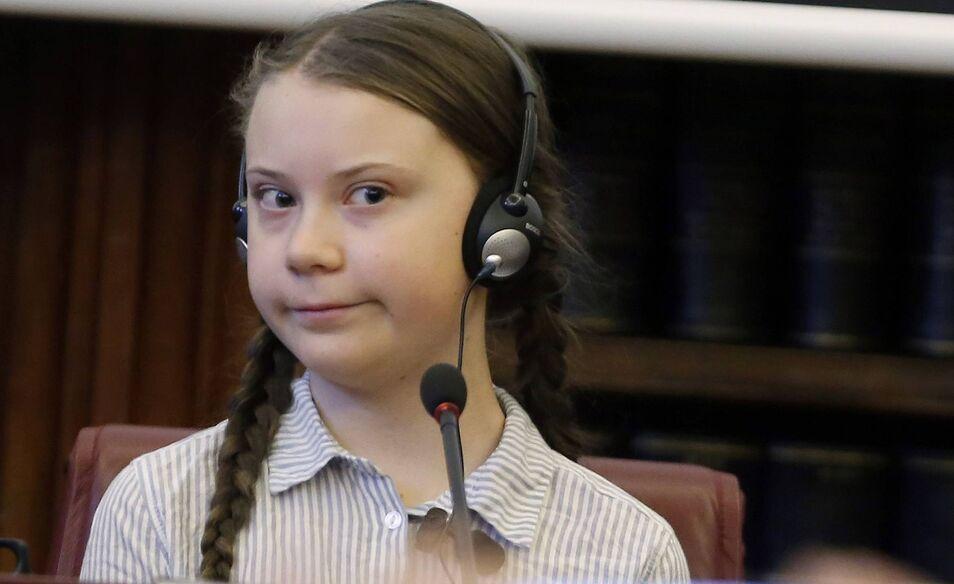 Es miserable que los políticos y autoridades utilicen a Greta Thunberg como nuevo icono ecologista del cambio climático.