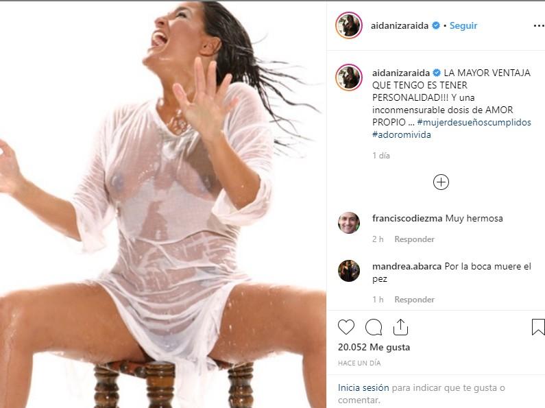 Aída Nízar Burla La Censura De Instagram Con Su Desnudo Más