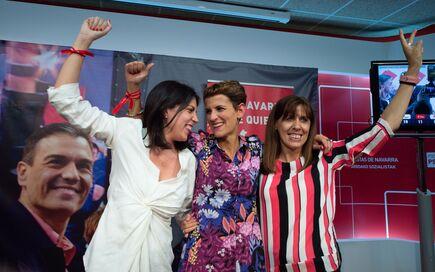 18cdb4fbd965 Celebraciones de las candidatas al Gobierno de Navarra el 26M