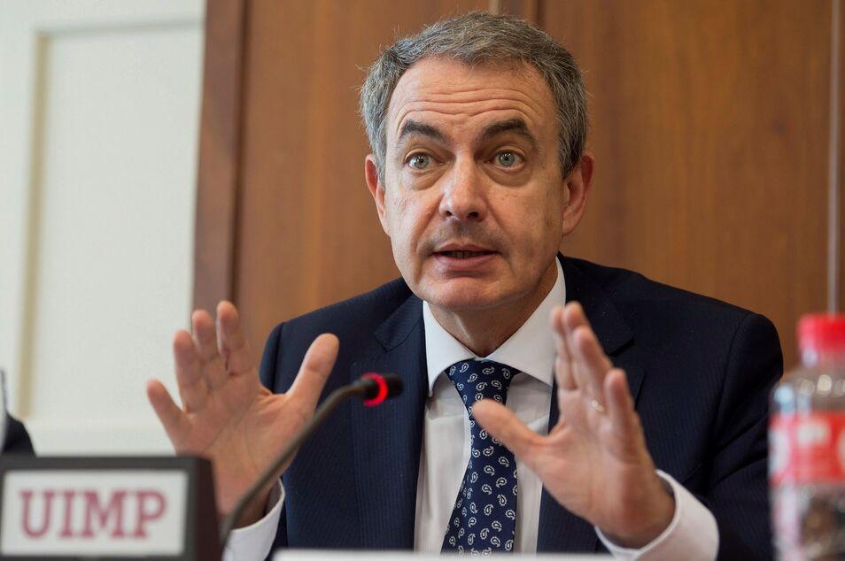 """El ex presidente del Gobierno se refirió al partido naranja como """"uno de los peores experimentos de la democracia""""."""