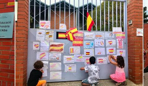 """Oleada de odio en Cataluña: excursión escolar al grito de """"¡Llibertat presos polítics!"""""""