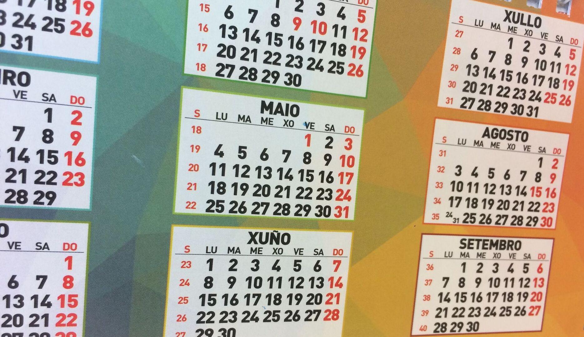 Calendario Diario 2020.Publicado Este Viernes El Calendario Laboral Para El 2020 En