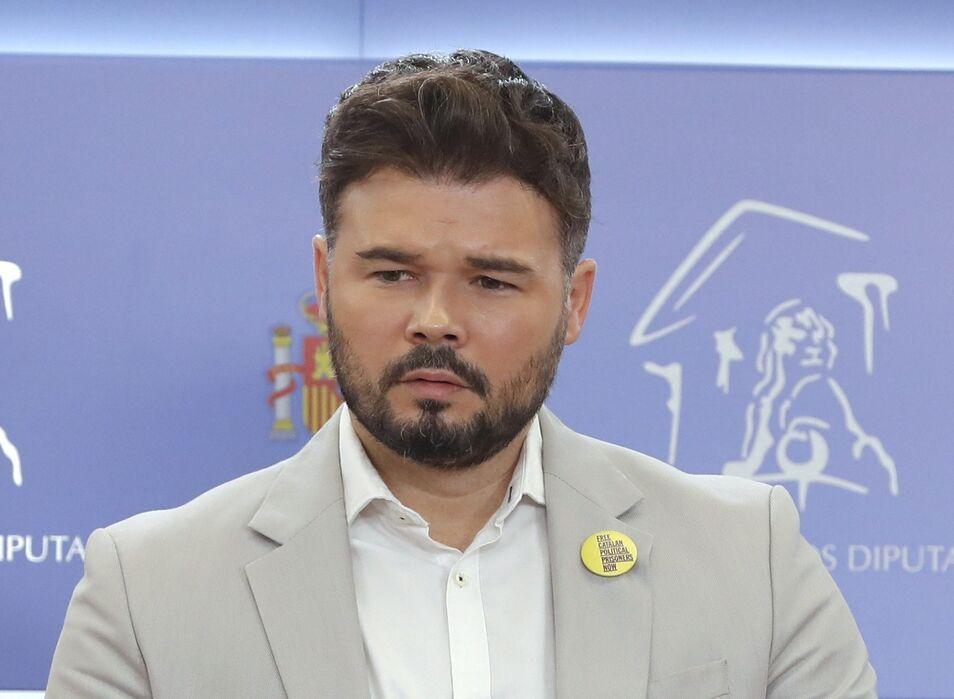 Año electoral en España - Página 7 Rufian250719