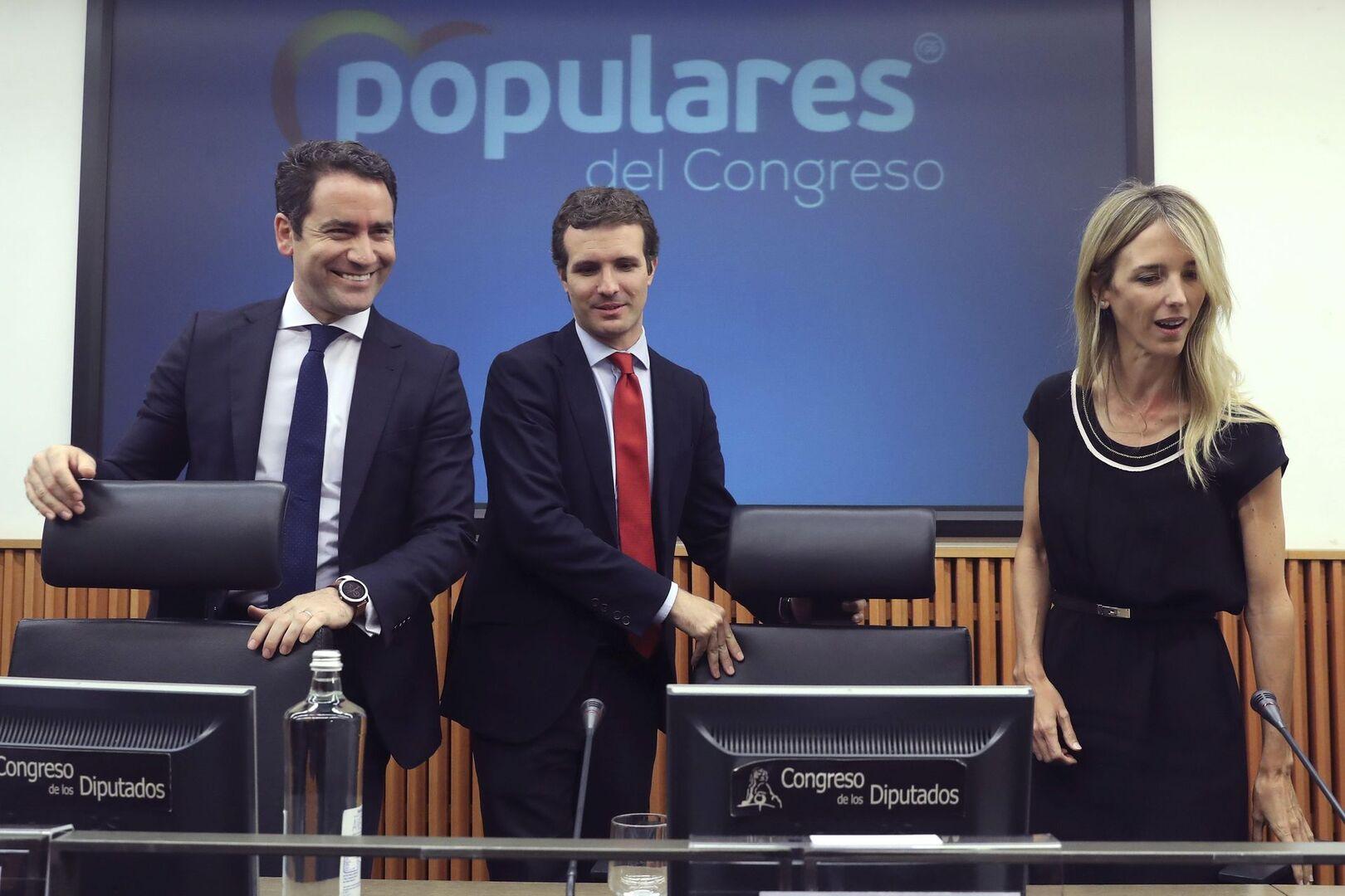 El PP responde en la Diada a los 52 diputados franceses que defendieron las mentiras del separatismo