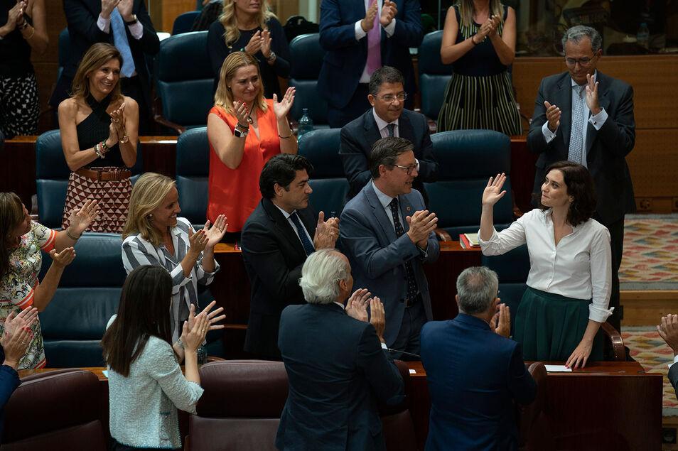 El feminismo liberal, aportación clave de Díaz Ayuso al discurso del PP de Casado