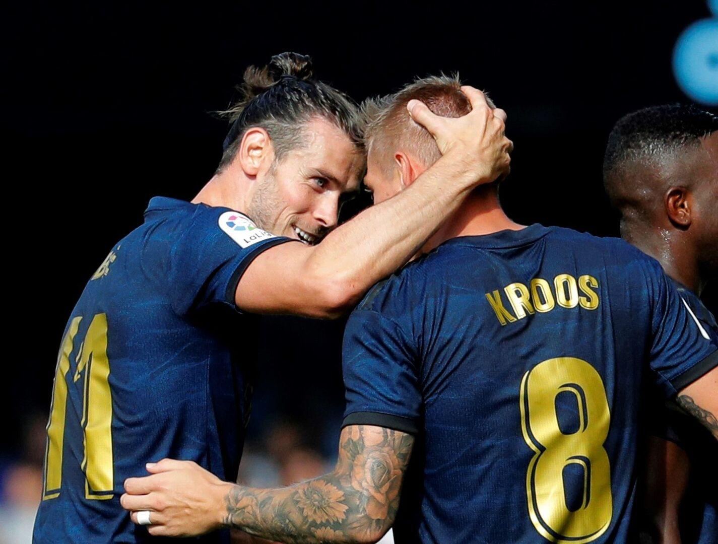 El Madrid muestra su cara más seria ante el Celta en Balaídos (1-3)
