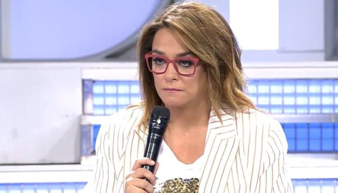 """La peor bronca de Toñi Moreno en televisión: """"Sois unos sinvergüenzas"""""""