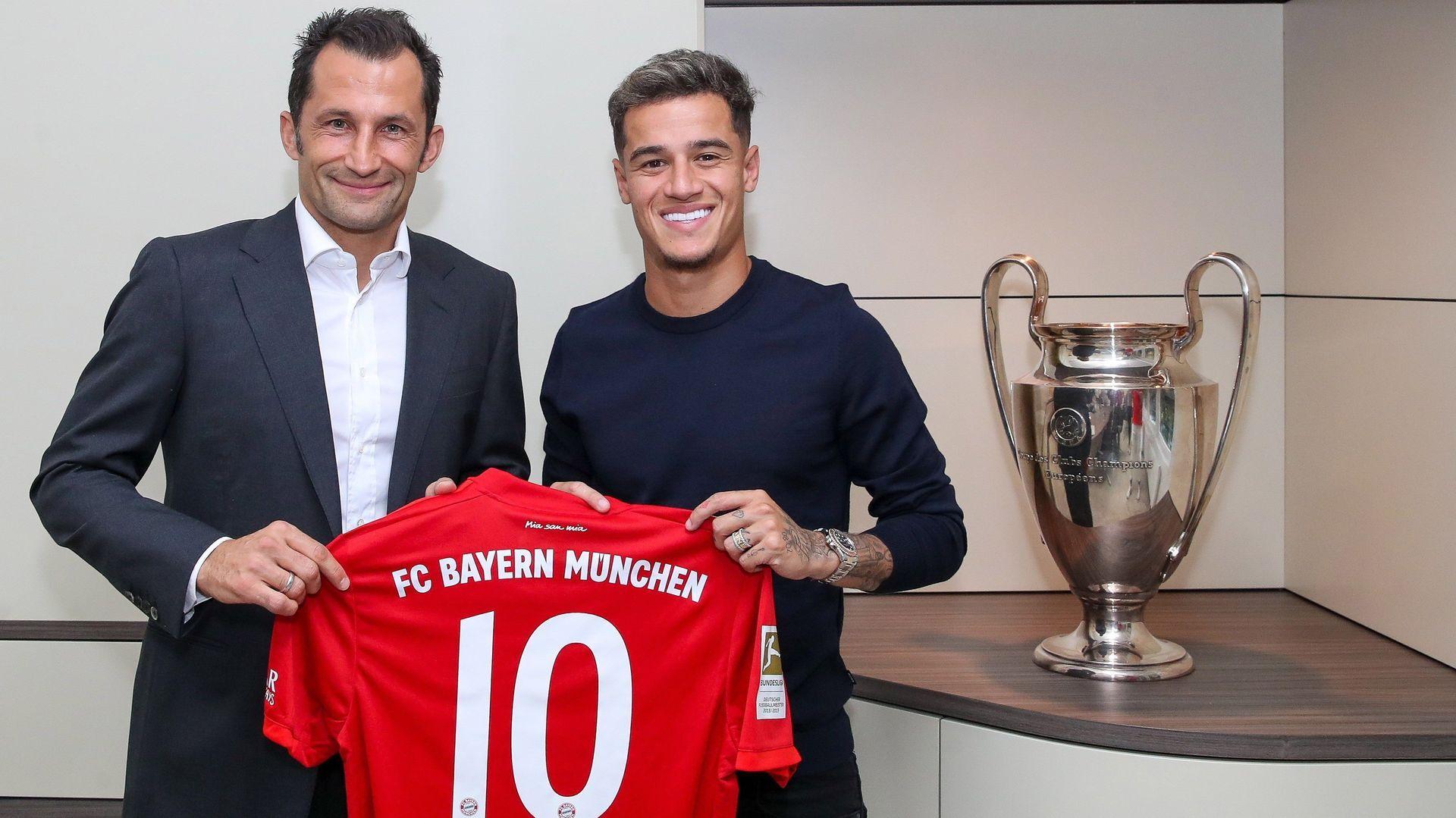 El Barcelona cede un año a Coutinho al Bayern de Múnich por 8,5 millones de euros