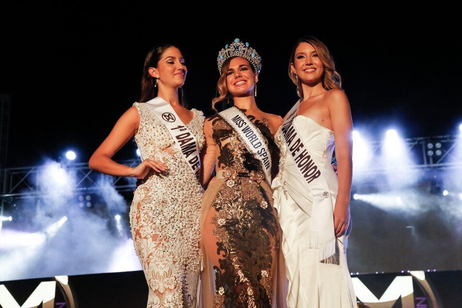 María del Mar Aguilera, la representante de España en Miss Mundo