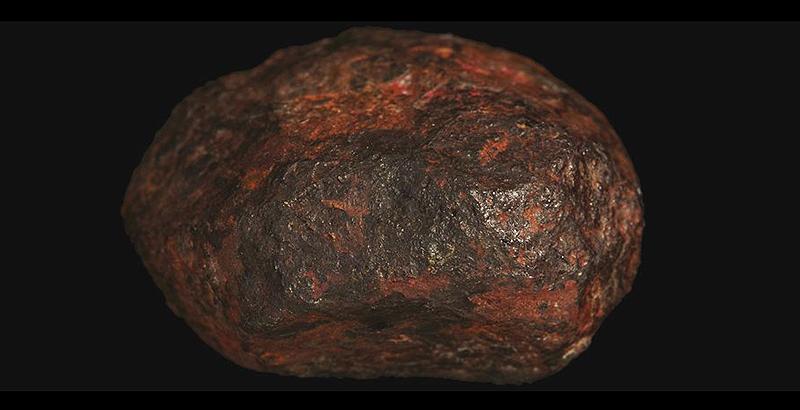 Descubren un nuevo mineral en el interior de un viejo meteorito