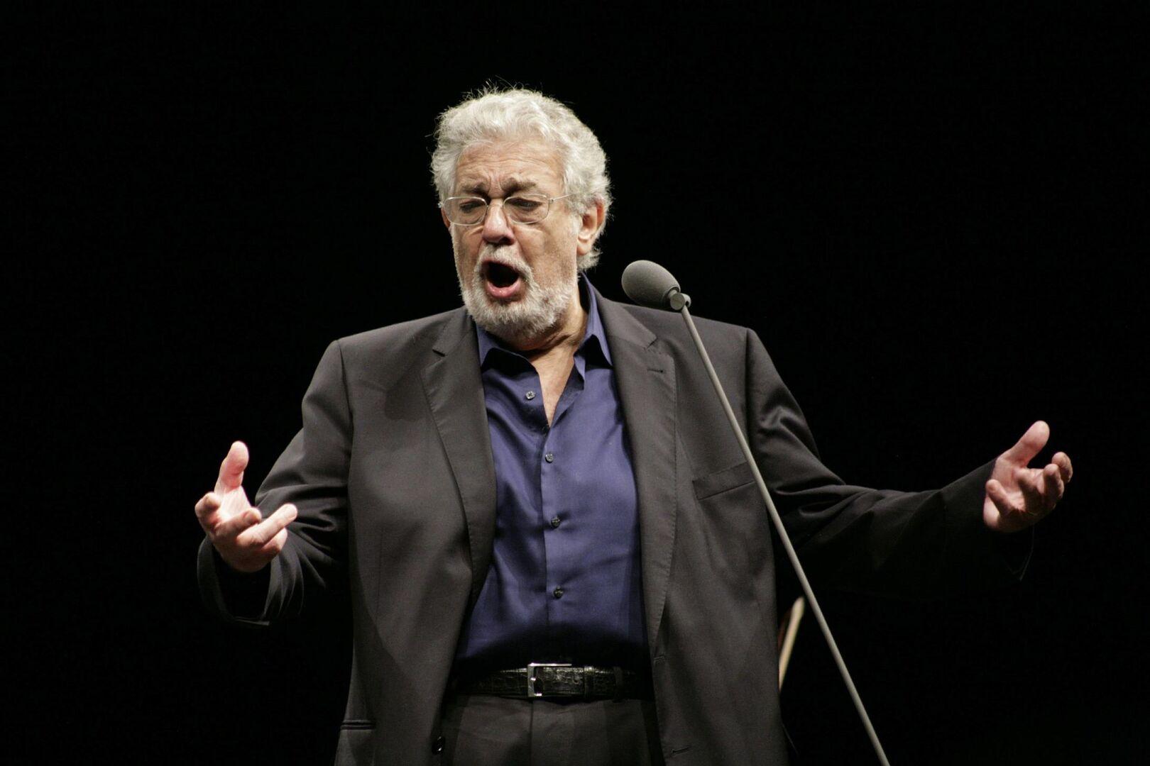 La Ópera de Dallas cancela la actuación de Plácido Domingo que tenía programada