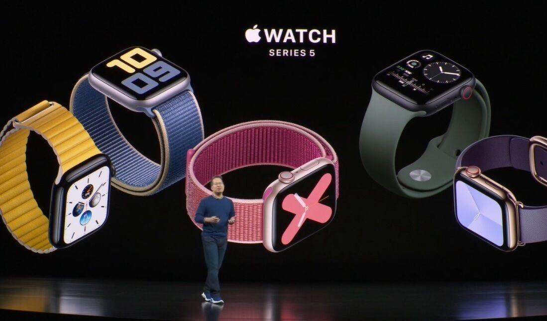 Apple presenta sus Apple Watch 5 y renueva los iPad