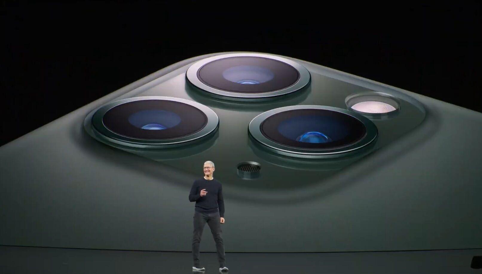 Apple presenta el nuevo iPhone 11 Pro, con una tercera cámara gran angular