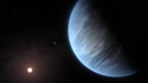 Detectan vapor de agua en la atmósfera de un exoplaneta similar a la Tierra