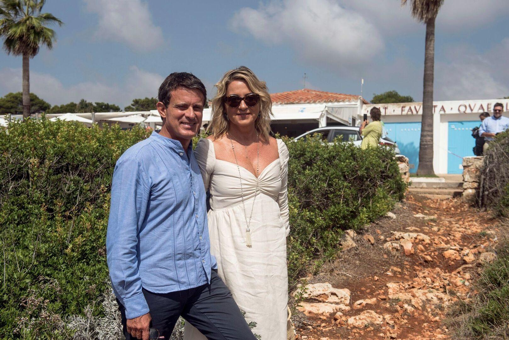 Valls y Gallardo celebran su boda de tres días en Menorca