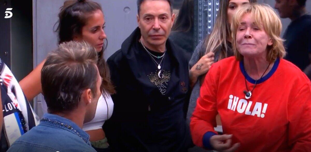 Mila Ximénez pierde los papeles con Hugo tras mencionarle a Rodríguez Menéndez