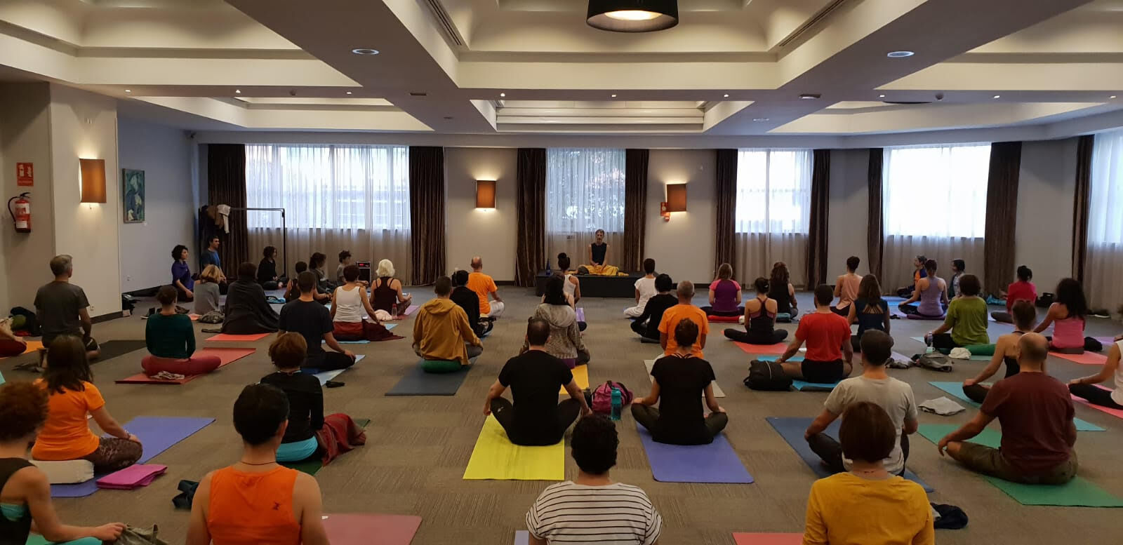 Cita imprescindible para los amantes del yoga en el Madrid Yoga Congress