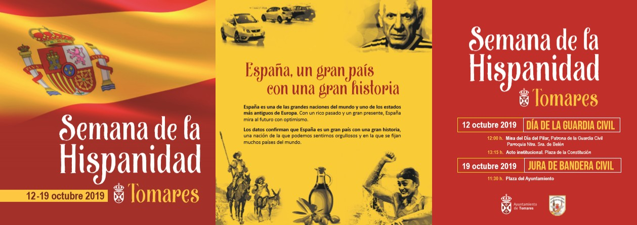 El ayuntamiento de tomares organiza la semana de la hispanidad - Jose santiago vargas ...