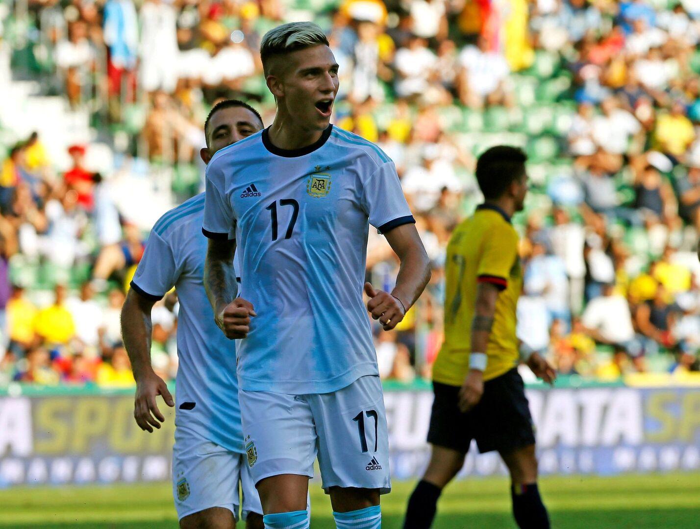 Argentina crece sin Messi y le mete seis a Ecuador (6-1)