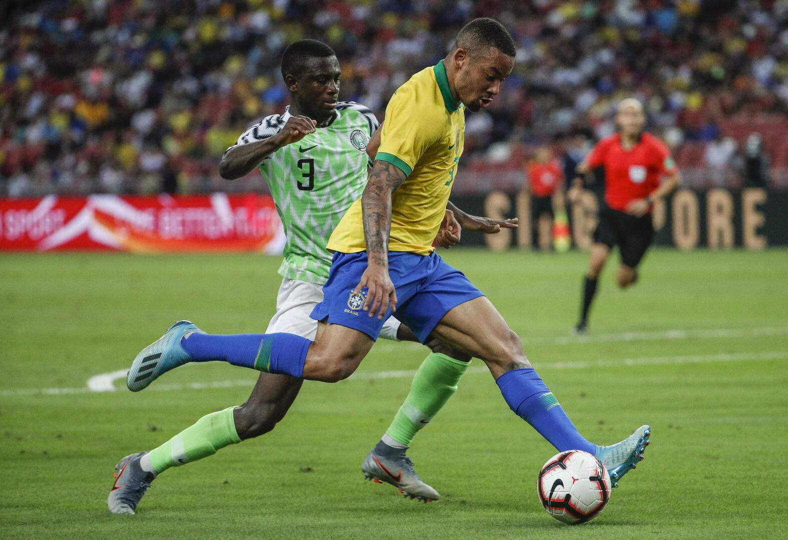 Una gris Brasil no pasa del empate ante Nigeria (1-1)