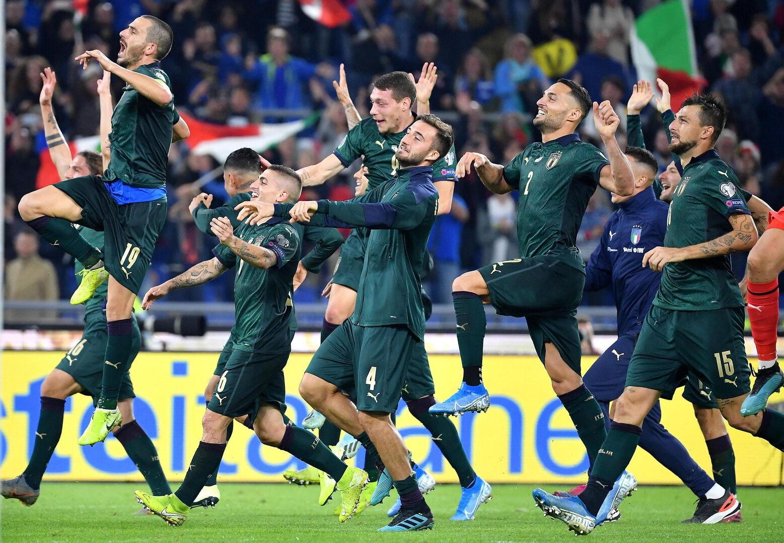 Italia, a la Eurocopa